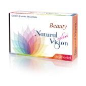 Lentes de Contato Coloridas Beauty Natural Vision Mensal - Sem Grau
