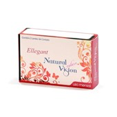 Lentes de Contato Coloridas Ellegant Natural Vision Mensal - Sem Grau