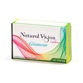 Lentes de Contato Coloridas Glamour Natural Vision Mensal - Sem Grau