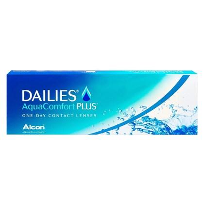 Lentes de contato Dailies Aqua Comfort Plus com 30 unidades